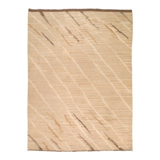"""Mid 20th Century Finnish Flat Weave Rug - 8'3"""" X 11'2"""" For Sale"""
