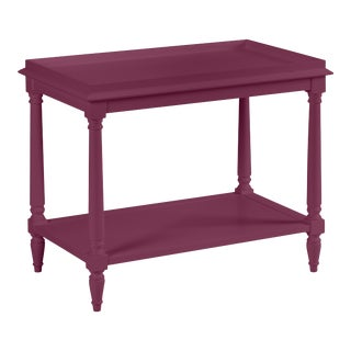 Casa Cosima Revere Side Table, Grape Juice For Sale