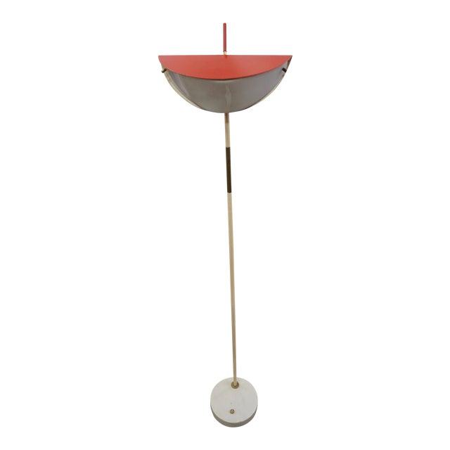 1950s Mid-Century Modern Italian Floor Lamp For Sale