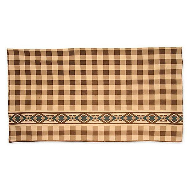 Checkered Camp Blanket - Image 4 of 6