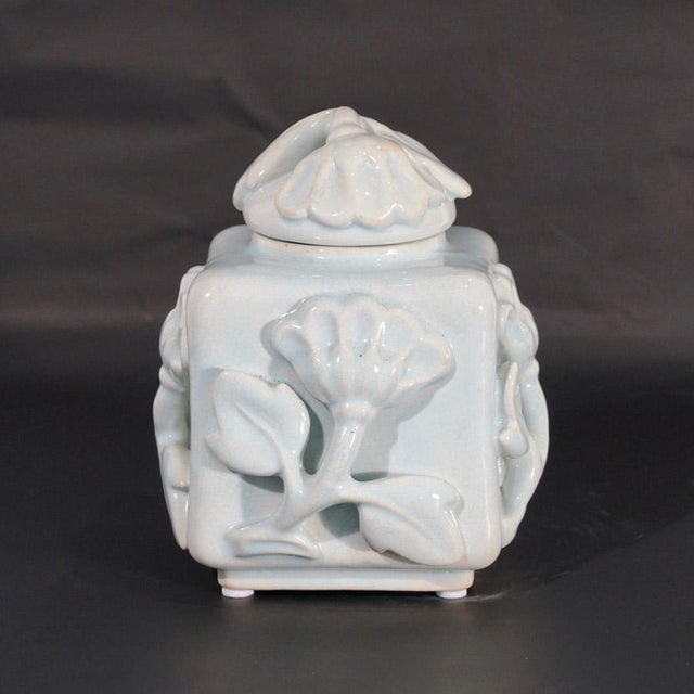 Art Deco 1920s Wilhelm Kage Lidded Box For Sale - Image 3 of 10