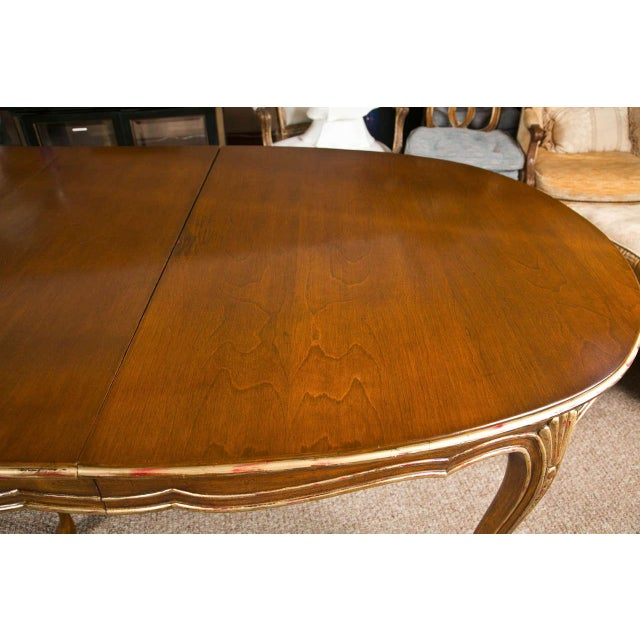French Louis XV Style Oval Dining Table by Jansen - Image 5 of 8