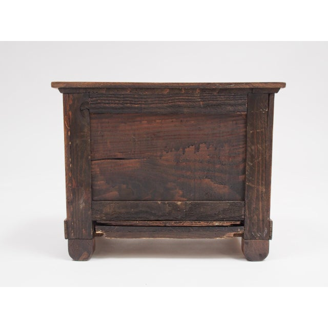Wood Miniature French Provincial Empire Commode For Sale - Image 7 of 7