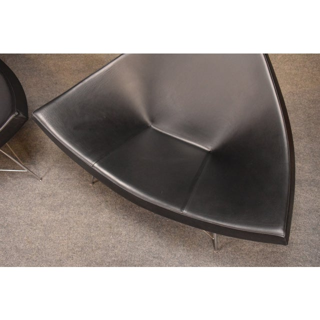 "Contemporary Vintage George Nelson for Vitra ""Coconut"" Chairs - a Pair For Sale - Image 3 of 13"
