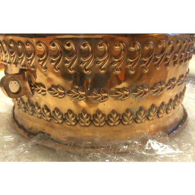 Antique Tinned Copper Repousse Box - Image 8 of 8