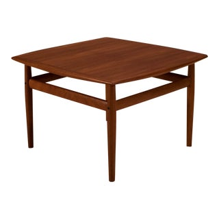 Danish Teak Grete Jalk Coffee Table For Sale