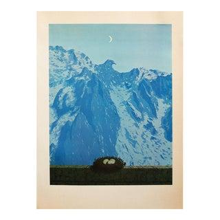 "1972 Rene Magritte, ""The Domain of Arnheim"" Original Photogravure For Sale"