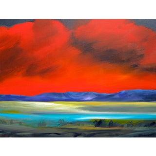 Jerome Gastaldi Painting - Violet Hills