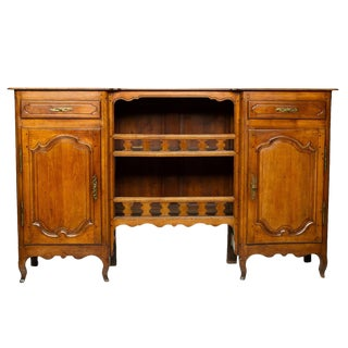 19th Century Louis XV Cherry Wood Steage Picardie For Sale