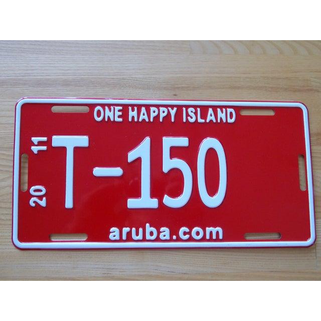 Aruba Metal License Plate - Image 3 of 3