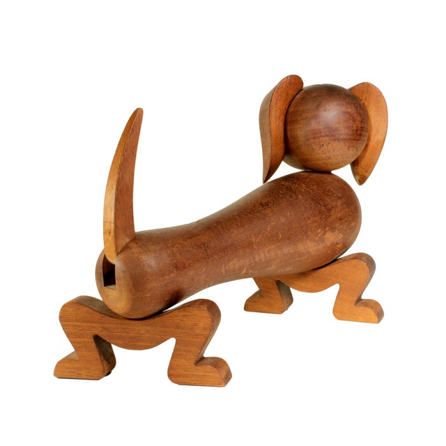 Kay Bojesen Wooden Toy Dachsund For Sale In New York - Image 6 of 8