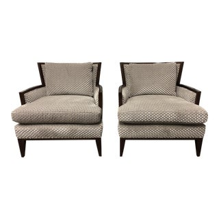 Barbara Barry California Lounge Chairs for Baker Furniture - A Pair