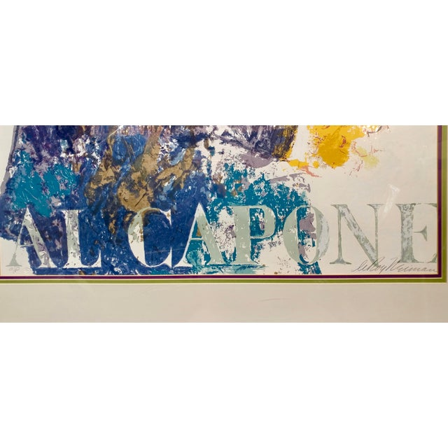 Leroy Neiman -Al Capone-Limited Edition Serigraph-Pencil Signed - Image 7 of 10