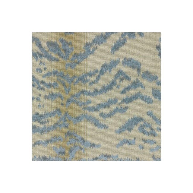 "2010s ""Rajah Blue"" Cowtan & Tout Fabric For Sale - Image 5 of 6"