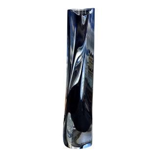 """Kosta Boda """"Saraband"""" Crystal Vase"""