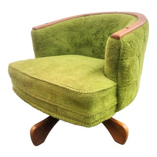 Mid-Century Swivel Chair After Adrian Pearsall For Sale