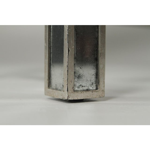 Glass 20th Century Art Deco John Richard Mirrored Modern Console Table For Sale - Image 7 of 10