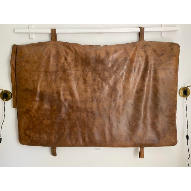 Leather Gym Mattress Czech, 1930 For Sale - Image 11 of 11