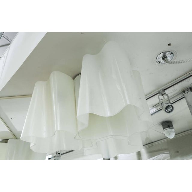 Modern Logico Triple Nested Semi-Flush Mount by Artemide Italy For Sale In Miami - Image 6 of 12
