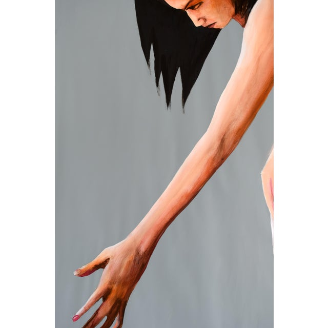 Contemporary Acrylic Painting - Reach - Image 8 of 9