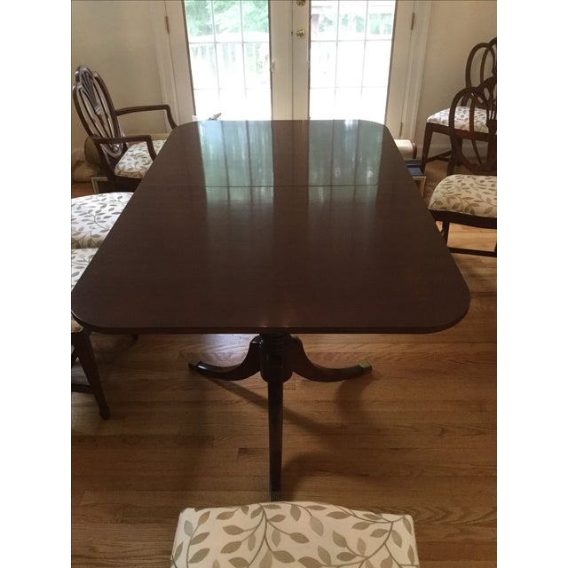 Drexel Travis Court Dining Room Table - Image 2 of 6