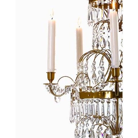 Gustavian (Swedish) Swedish Gustavian Chandelier For Sale - Image 3 of 4