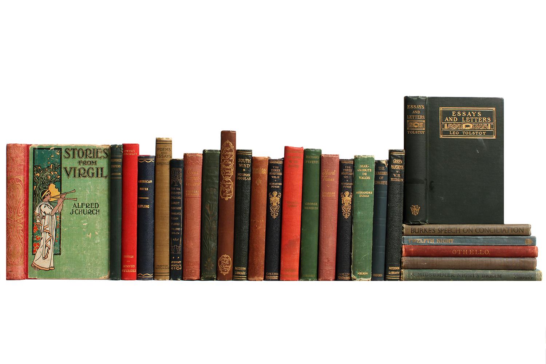 Vintage Quot Pocket Sized Quot Classics Books Set Of 25 Chairish