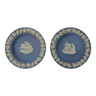 A Pair- English Wedgwood Coasters Trinket Dishes For Sale