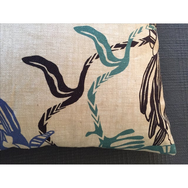 Missoni Home Designer Mezewele Throw Pillow For Sale - Image 7 of 11