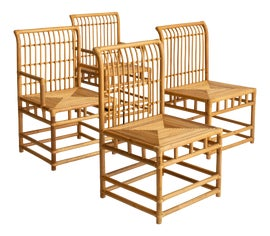 Image of McGuire Dining Chairs