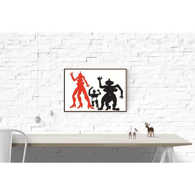 Modern Alexander Calder, Derriere Le Miroir, Lithograph For Sale - Image 3 of 3