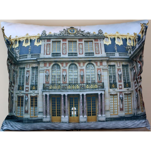 Versailles Rear Courtyard Photo Pillow For Sale - Image 12 of 12