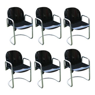 Afra and Tobia Scarpa Chairs - Set of 6
