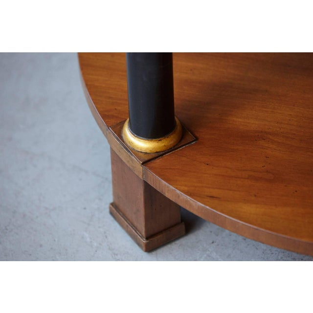 Walnut Empire Style Walnut Side Table by Baker Furniture For Sale - Image 7 of 11