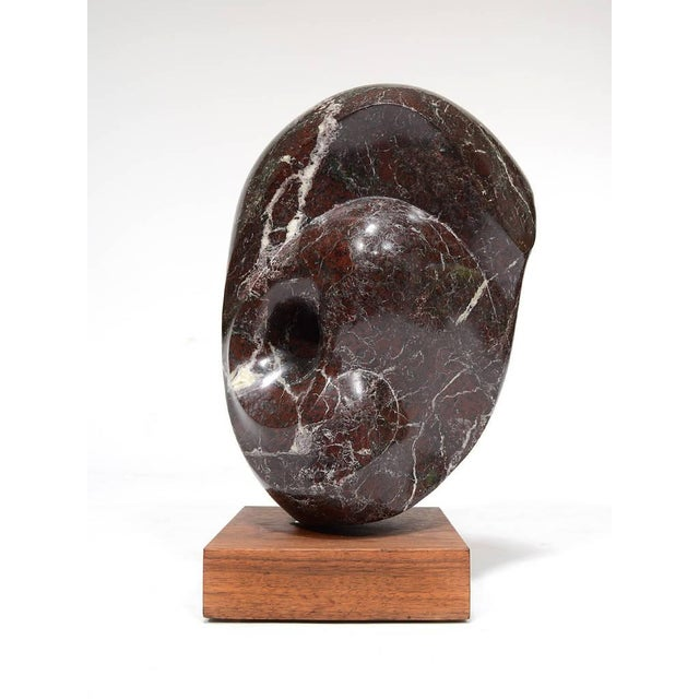Abstract Marble Sculpture in the Manner of Barbara Hepworth - Image 10 of 11