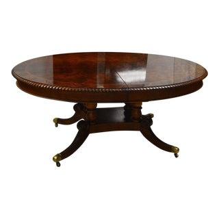 Henredon Flame Mahogany Dining Table