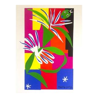 """Henri Matisse Rare Vintage 1991 Lithograph Print """" La Danseuse Creole """" 1950 For Sale"""