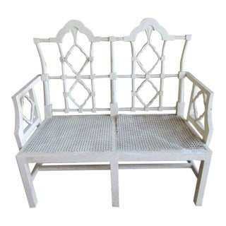 Francis Elkin Palm Beach Settee For Sale