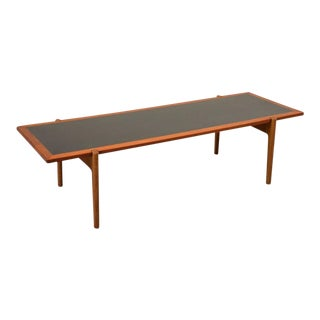 Large Reversible Top Coffee Table by Hans Wegner For Sale