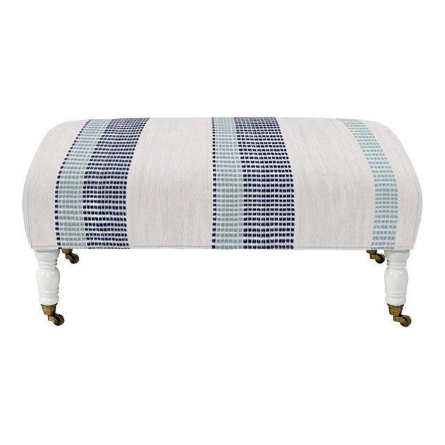 Cool and sleek, the hand-made cocktail ottoman is a charming addition that delivers versatility to act as seating, a...