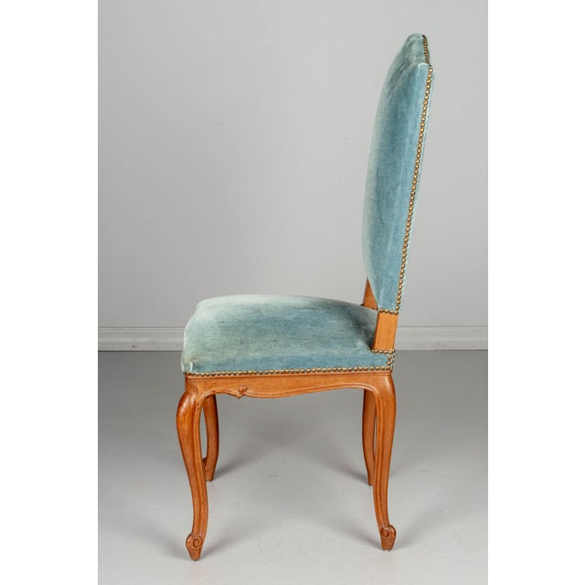 Mid 20th Century French Louis XV Style Dining Chairs - Set of Six For Sale - Image 5 of 10
