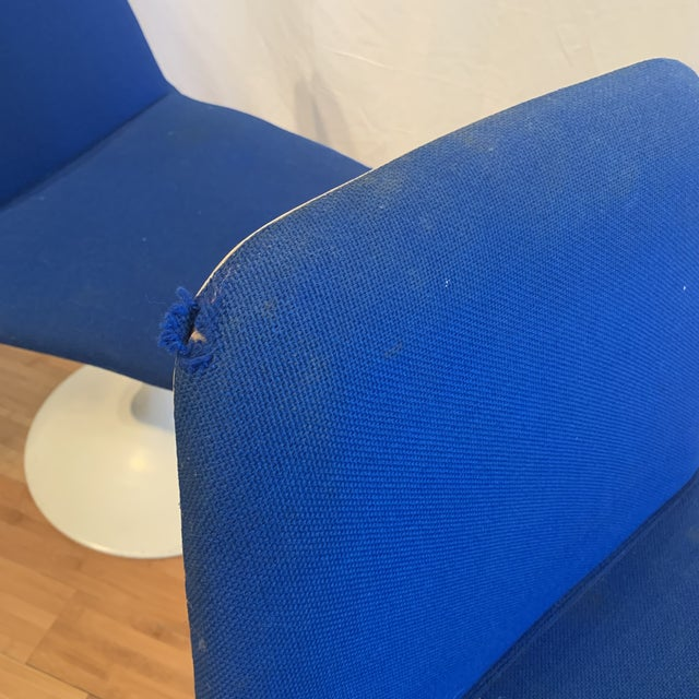 Metal 1960s Vintage Borje Johanson Swivel Chairs- Set of 4 For Sale - Image 7 of 10