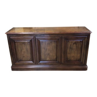 20th Century Traditional Kindel Furniture Milano Finish Sideboard For Sale