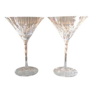 Waterford Wedgwood Vera Wang Crystal Martini Glasses - a Pair
