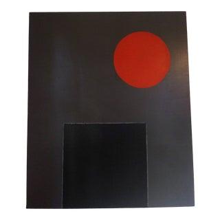 Kelly Caldwell Minimalist Geometric Painting For Sale