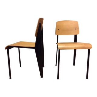 Vitra Prouve Standard Chairs - A Pair