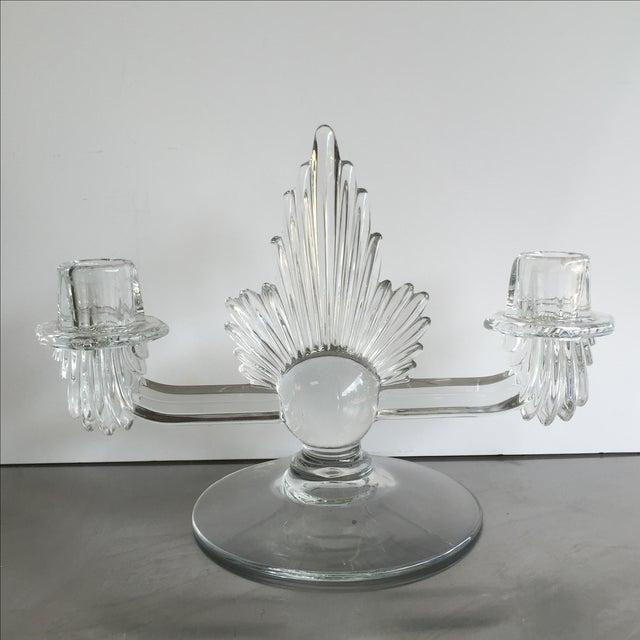 Fostoria Art Deco Candlestick - Image 2 of 4