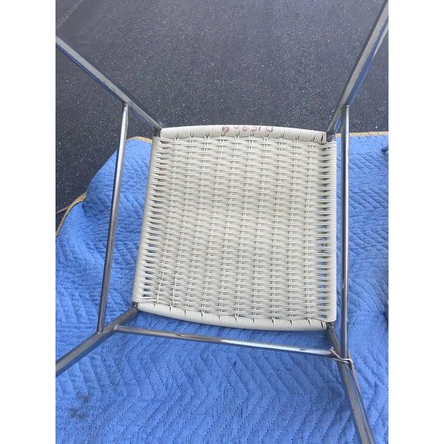 1960s Vintage Gio Ponti Chrome Superleggera Chairs - Set of 4 For Sale - Image 9 of 13