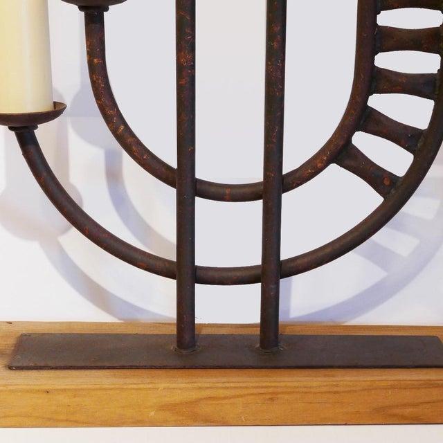 1960s Mid-Century Brutalist Candelabra For Sale - Image 5 of 7