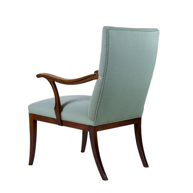 Frits Henningsen Lounge Chair For Sale In Los Angeles - Image 6 of 8